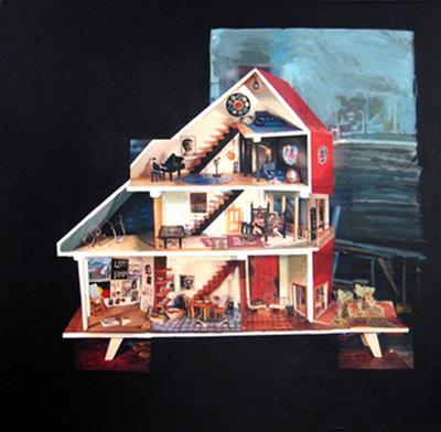 Ann Newmarch Bruno's Dolls House ART LOGIC