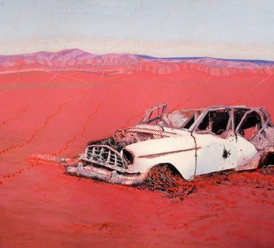 Ann Newmarch Maralinga, Poisoned Rations,1987 ART LOGIC