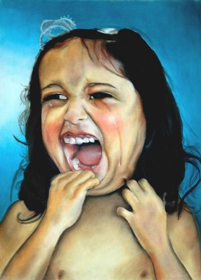 Emily Button Crying ART LOGIC