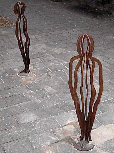 Gerry McMahon Bollards ART LOGIC