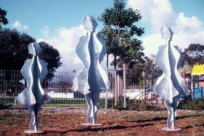 Gerry McMahon Dancing Girls ART LOGIC