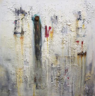 Grace Delaney Weathered Surface ART LOGIC
