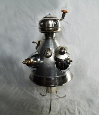 Graham Shaw Exterminator Robot ART LOGIC