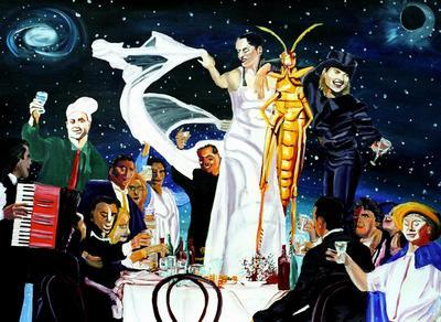 James de Blas The Party ART LOGIC