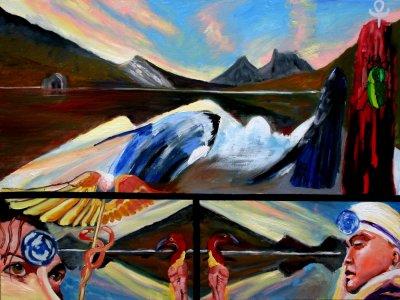 James de Blas Dove Lake ART LOGIC
