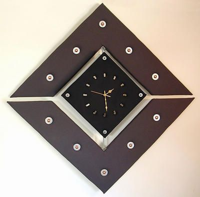 Jason Aslin Pendulum Plush Clock ART LOGIC
