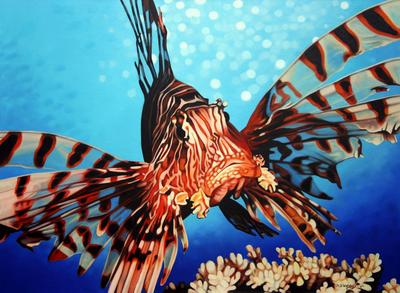 Matthew Welsby Lion Fish ART LOGIC