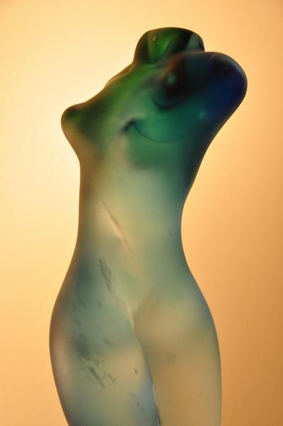 Randall Sach Blue Torso ART LOGIC