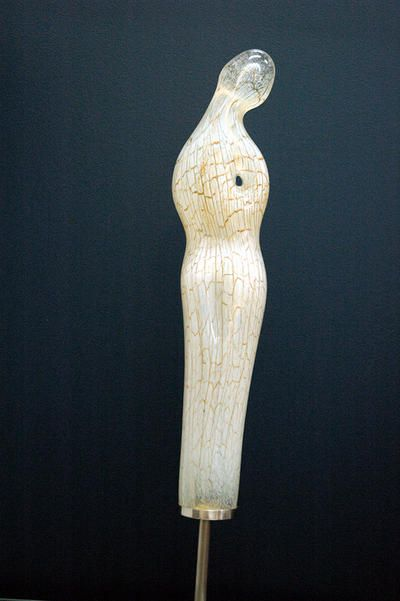 Randall Sach Blown Ivory Form ART LOGIC