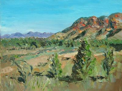 Roland Weight Flinders Ranges Study ART LOGIC