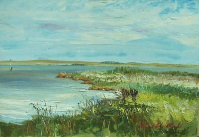 Roland Weight View from Rat Island, Lake Alexandrina ART LOGIC
