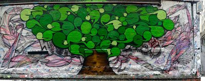 Sebastian Humphreys Hosier Lane Mural ART LOGIC