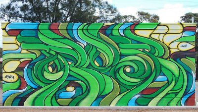 Sebastian Humphreys Order Mural, Whyalla ART LOGIC