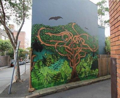 Sebastian Humphreys Surry Hills Mural ART LOGIC