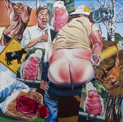 Bill Cook, The National Galah , ART LOGIC