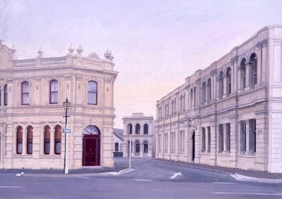 Brian Dunlop, Historic Precinct (NZ), ART LOGIC