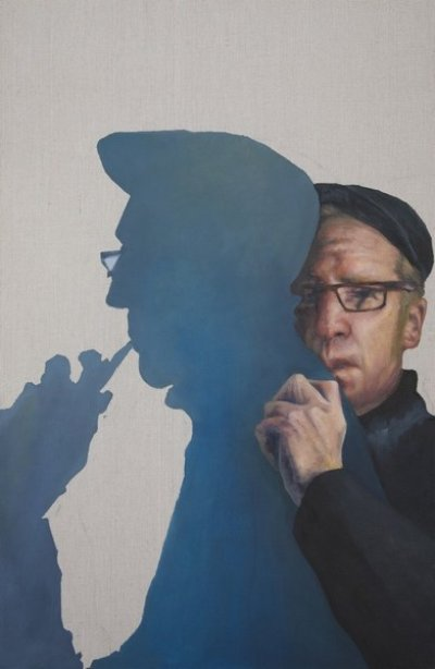 Cynthia Schwertsik Man of Shadow ART LOGIC