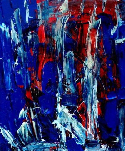 Denva Whiting, Atomic Blue, Art Logic