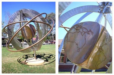 Gerry McMahon, Global Celebration Sculpture, ART LOGIC