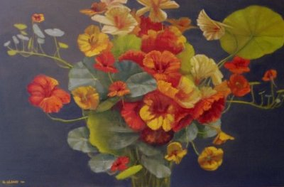 Greg O'Leary Nasturtiums 2 ART LOGIC
