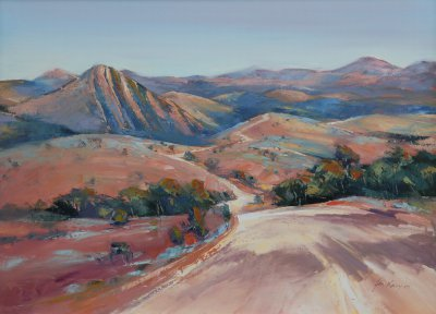 John Lacey Razorback - Flinders Ranges ART LOGIC