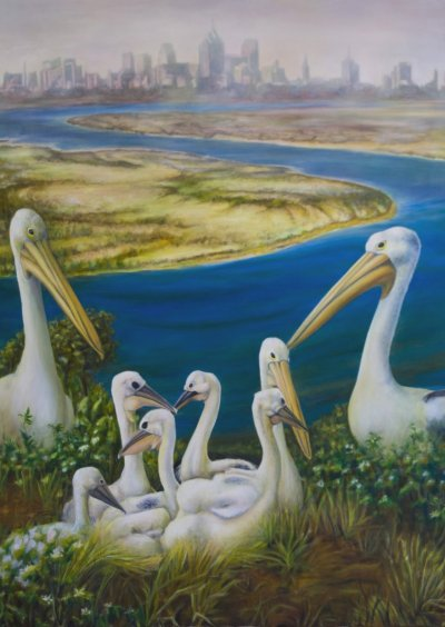 Liesbeth P Pelican City Art Logic