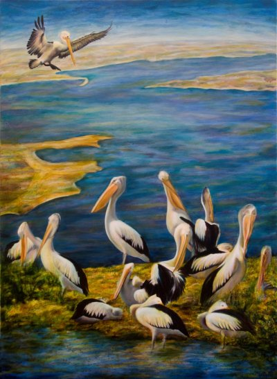 Liesbeth P Pelican Lake Art Logic