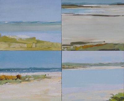 Lise Temple Viewing Water 2, The Coorong ART LOGIC