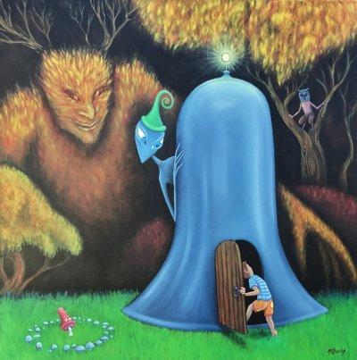 Matt Sheehy, A Foot in the Otherworld , ART LOGIC