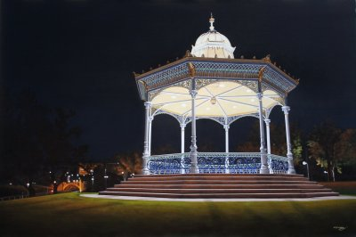 Matthew W, Rotunda Illuminated, Art Logic