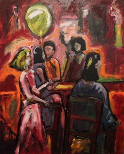 Maureen Finck Prospect Street Party ART LOGIC