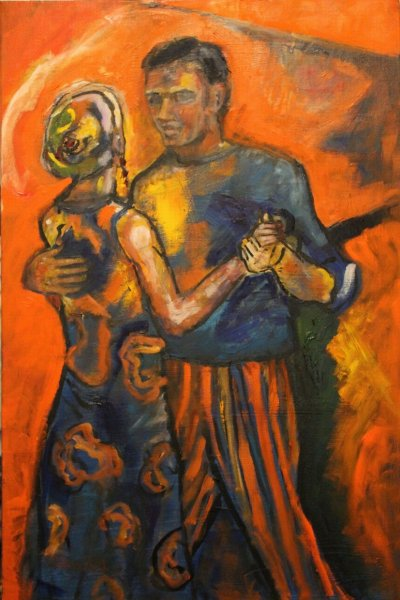 Maureen Finck Salsa Dancers ART LOGIC