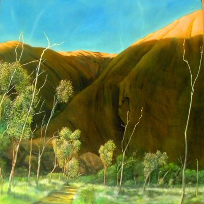 Michael McMeekan Uluru Backside 1 ART LOGIC