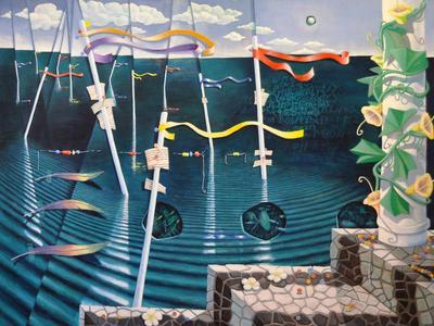 Geoff Stapleton Ocean 1 ART LOGIC