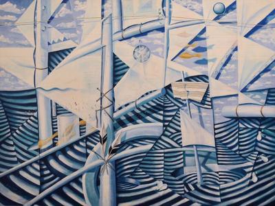 Geoff Stapleton Sailing ART LOGIC