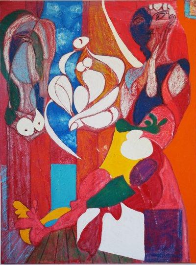 J Eva M, Picassoesque, Art Logic