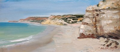 Roland Weight, Port Willunga Study II, ART LOGIC