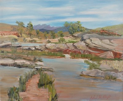Roland Weight, Wonoka Creek, ART LOGIC