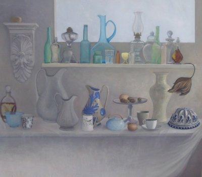 Sophie Dunlop Studio Shelves ART LOGIC