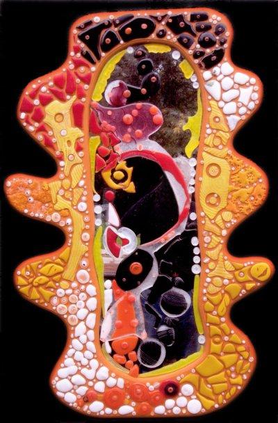 Stephen Skillitzi Harlequin Glass ARTLOGIC