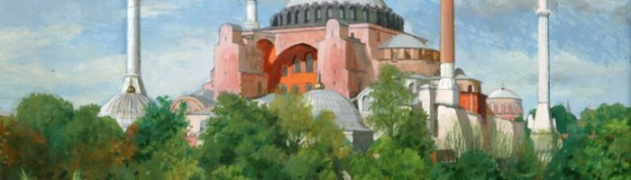 Brian Dunlop,  Hagia Sophia Afternoon, ART LOGIC