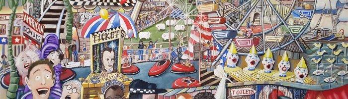 Geoffrey S, Fairground Attractions, 1220x920, $5000