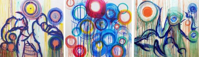 J.Eva M, Bouncing the Beat 1-3, Art Logic