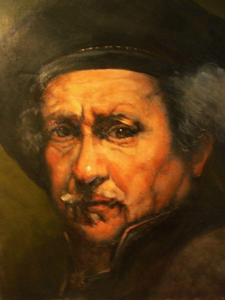 rembrandt self portrait rembrandt