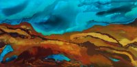 J Eva M Australian Outback Blues ART LOGIC