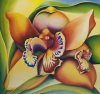 Liesbeth P Orchid LE3-3 Art Logic