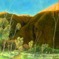 Uluru Backside 1