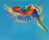 Roland Weight, Rainbow Lorikeet, ART LOGIC
